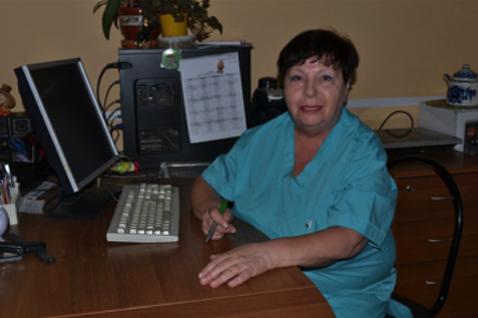 Заведующая отделением – врач высшей категории Т.С.Набокова.