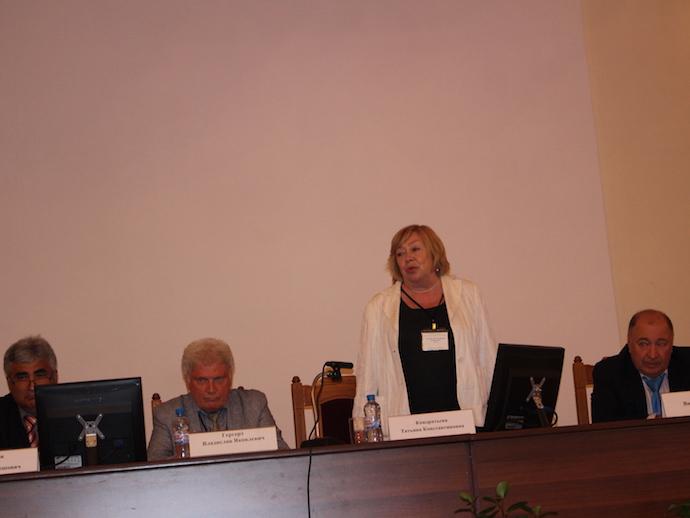 председатель оргкомитета школы д.м.н. Т.К. Кондратьева.