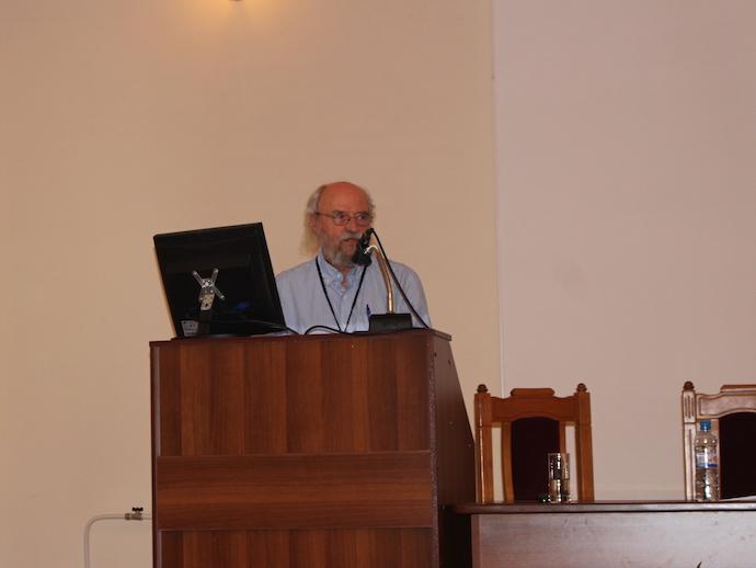 профессор Дэвид МакМаррей (A&M University, Texas, США)