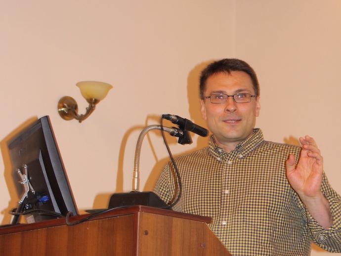 профессор Е. Ерусланов (University of Pennsilvaniya, Филадельфия, США)
